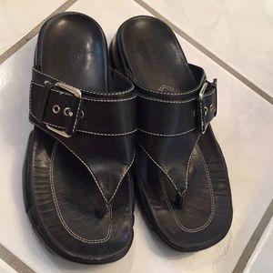 Cole Haan Black sandals size 6B